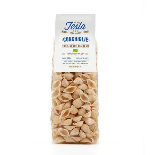 Conchiglie bio con grano italiano