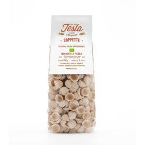 Coppette integrali bio con grano saragolla macinato a pietra
