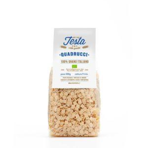Quadrucci bio 500gr. con grano italiano